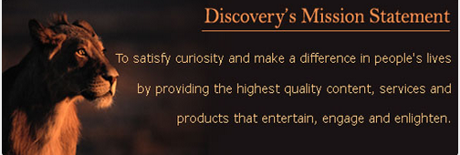 Discovery's Mission Statement
