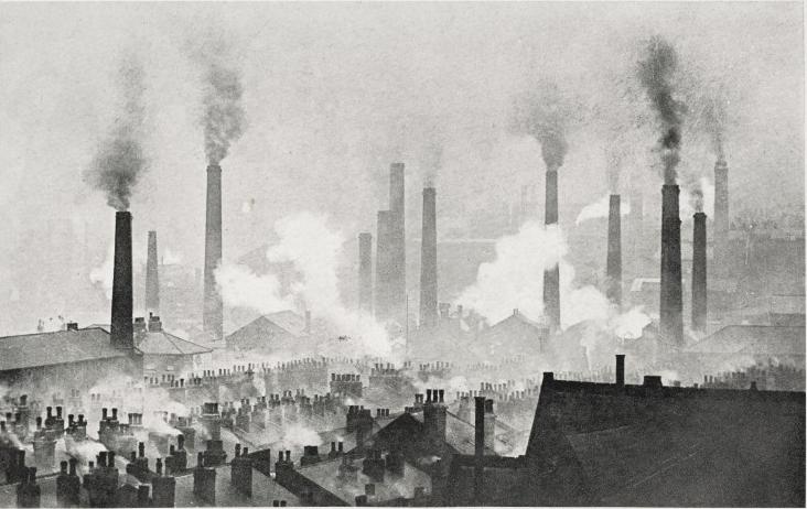 Chimneys in Leeds